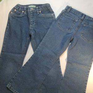 Circle Girls Jeans 2 Pairs